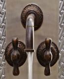 old world bath wall bronze faucet