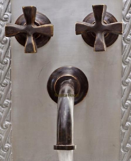conventional bath wall bronze faucet