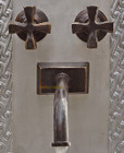 traditional bath wall bronze faucet