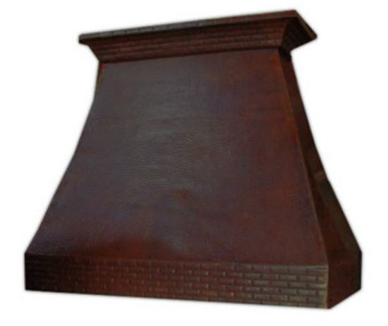 large kitchen range hood