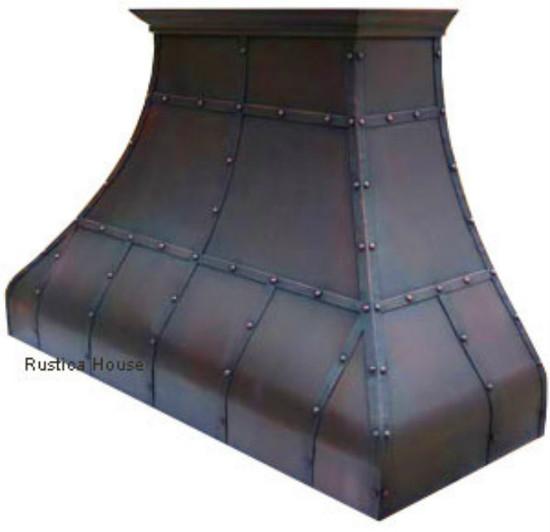 custom copper stove hood