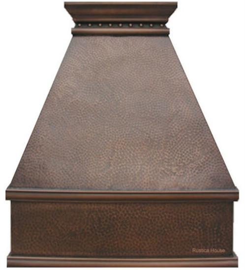 copper stove hood