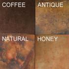 rustic range hood copper patina