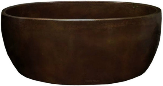 double wall copper bathtub