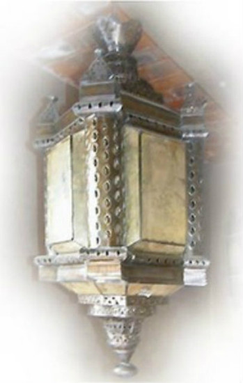 decorative tin chandelier