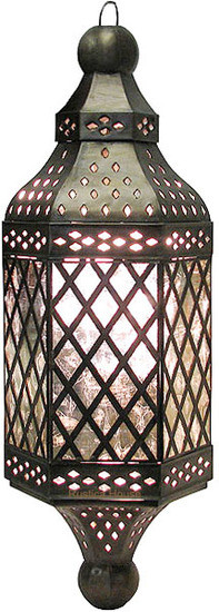 artistic tin chandelier