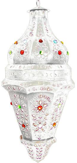 handcrafted tin lantern celaya