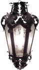 rustic tin chandelier