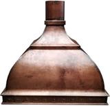 stove hood copper