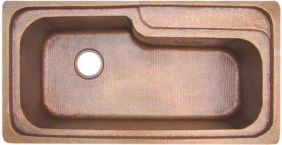 undermount copper bathtub