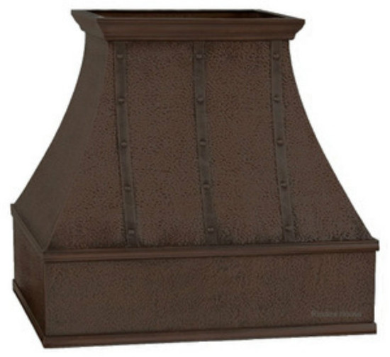 copper range hood for kitchen