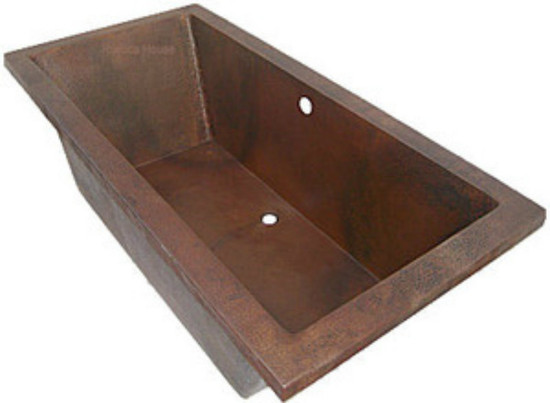 drop-in copper tub