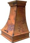 copper vent hood detail