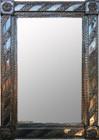 rectangular tin mirror