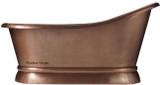 patina copper tub