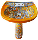 mexican toilet pedestal sink