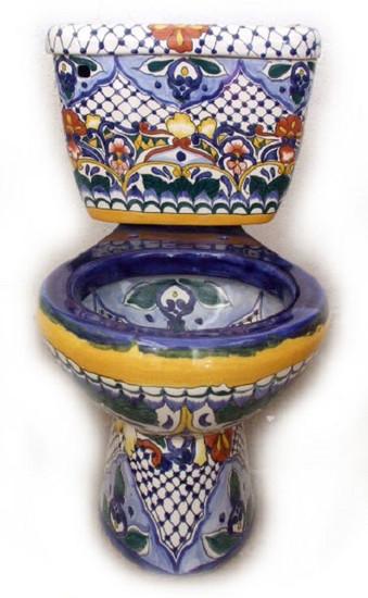 mexican hacienda toilet