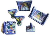 decorative ceramic bathroom set