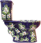 mexican cobalt toilet side view