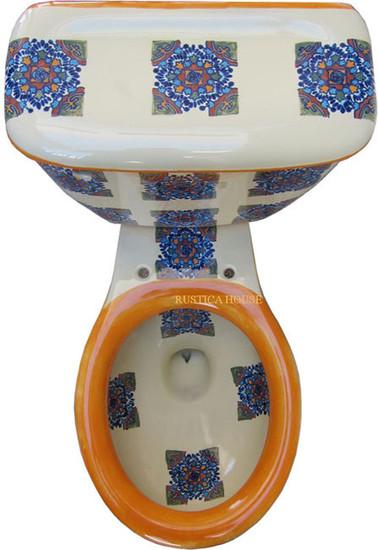 mexican handmade toilet