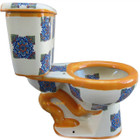 mexican handmade toilet side view