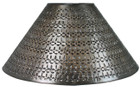 Mediterranean tin lamp shade