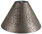 custom handcrafted tin lamp shade
