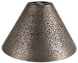 custom handcrafted tin lamp shade