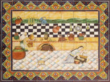 tile mural traditional mexican cuisine