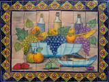 Southeastern garden tile mural