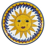 clay talavera plate yellow