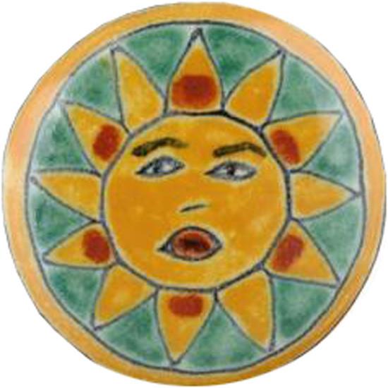 yellow green ceramic pull knob