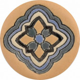 gray amber ceramic pull knob