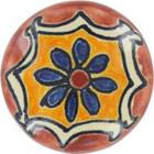 white terra cotta ceramic pull knob