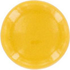 yellow ceramic pull knob