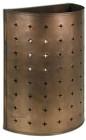San Diego tin wall lamp