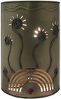 Spanish tin wall lamp
