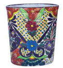 talavera bath trash can