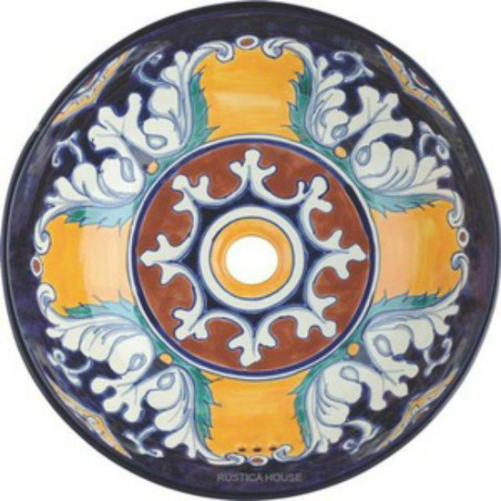 round mexican bath sink myrustica