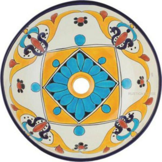 round mexican sink 097026