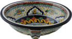hand made talavera sink