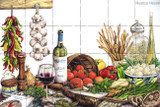 tile mural italian recipe
