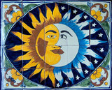 Closeout Sale: Mexican Talavera Tile Mural