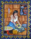 tile mural grinding mural