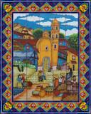 southern shower tile mural