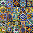 mexican mixed tile patterns