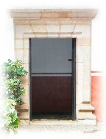 cantera stone door