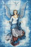 Angel bathroom wall tile mural