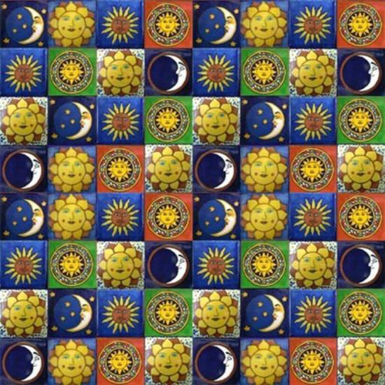 mexican tiles folk art
