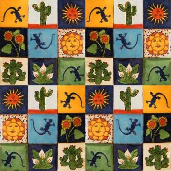 mexican tiles texas mix